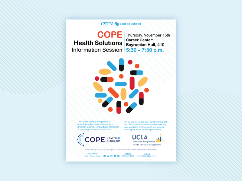 Cope Health Information Session Flyer