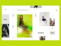 Fashion app visual