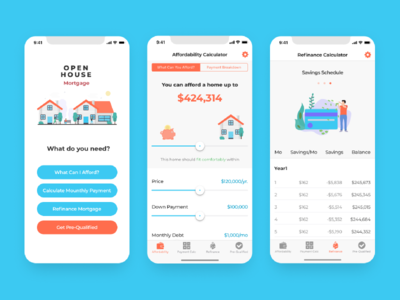 Mortgage app for iOS