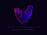 Relationship by @jordangeographic (Album Cover Design)