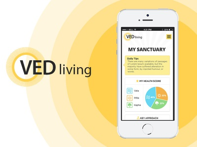 VED Living ui ecommerce responsive mobile apps web developement