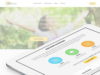 VED Living Responsive Design ui responsive mobile apps ecommerce web developement