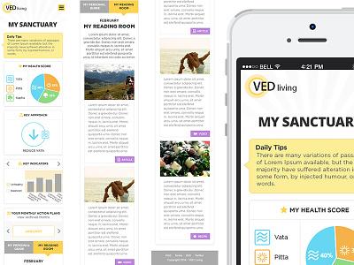 Ved Dribbble Mobile Responsive ecommerce resonsive ui mobile apps web development