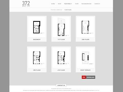 Deanna Kory Real Estate Website minimal clean simple layout real estate mobile responsive web design website design
