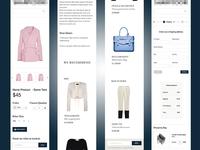 E-Commerce Mobile Views / Checkout