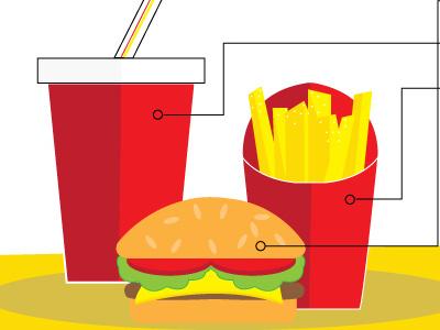 Media Consumption Illustration illustration flat blog graphics