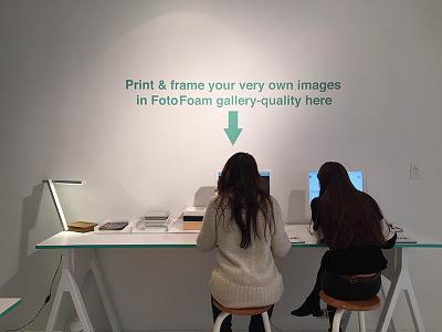 Interactive Photo & Art Framing App app interactive ipad custom design photography nyc gallery web application new york