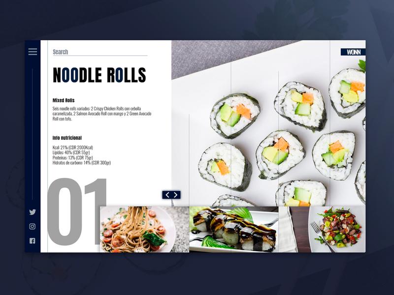 -Wonn- behance portfolio design webdesign website web