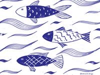 Cobalt Fishies