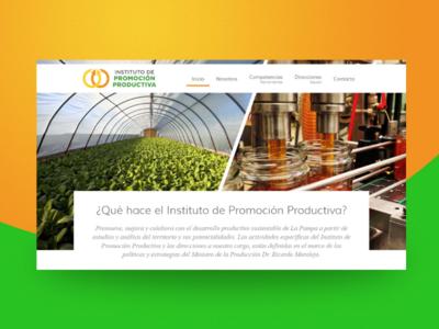 Instituto de Promoción Productiva - State Gov. Web Site