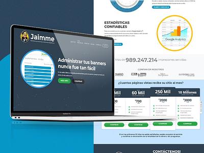 Jaimme - Ad Server for your agency or media made easy / Web Dev