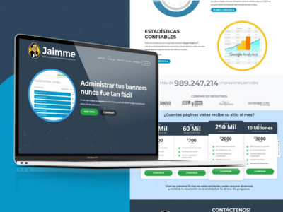 Jaimme - Ad Server for your agency or media made easy / Web Dev