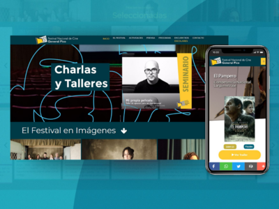 Festival Nacional de Cine - General Pico, LP - Website/Webapps