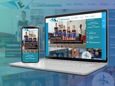 Club Estudiantes - Sports Club Web Portal / UI