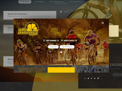 Rally Endurance / Annual Race Event / Website - UI/UX