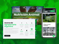 Agropecuaria Argentina - Store and Services - Web Development