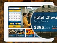 Hotel App Landing Page