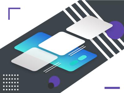 "Card Transition UI Concept ""001"""