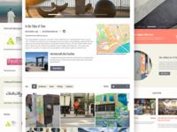 Santa Cruz City Arts Website