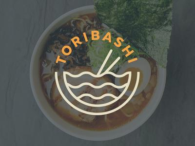 Toribashi soup orange logo brand noodles ramen