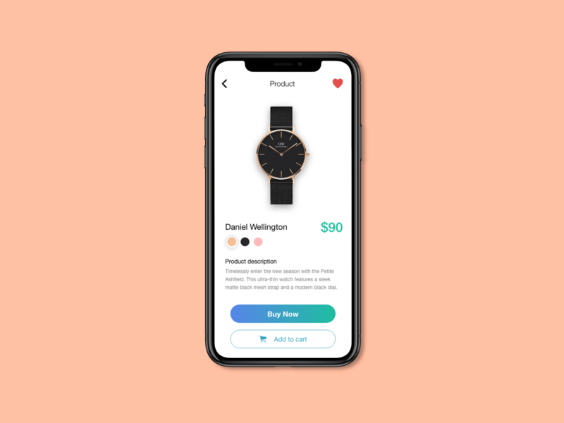 Ecommerce Shop - Daily UI 11