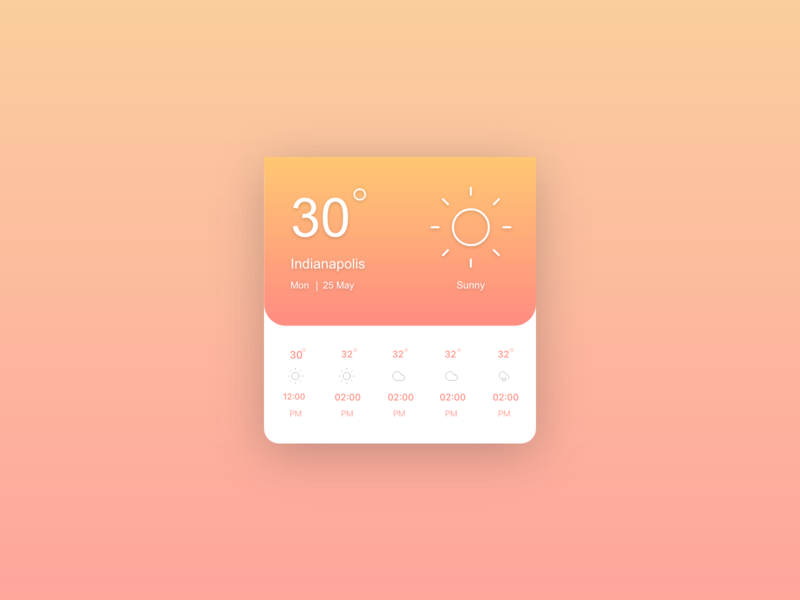 Weather - Daily UI 31