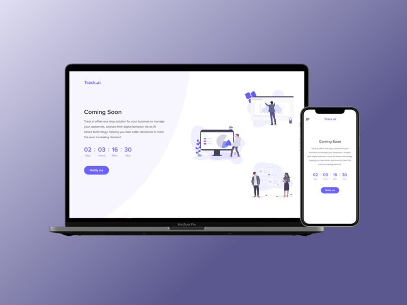 Coming Soon - Daily UI 48 user inteface mobile website ux branding ux design daily 100 challenge web design adobe xd visual design landing page coming soon product design ui ux app design app ui design dribbble daily ui ui