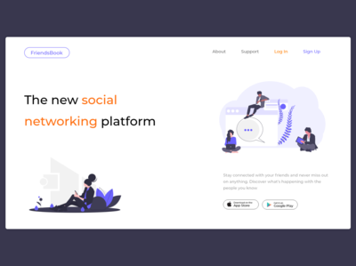 Landing page - Daily UI 03