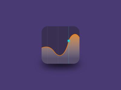 Stock Market App Icon - Daily UI 05