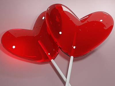 be mine cryptoart nft 3d modeling 3d model red love hearts valentines day blender 3d artist 3d art 3d