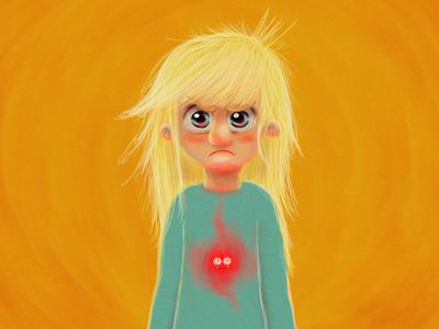 Monster - Anger anger monster caracter design illustration adobe
