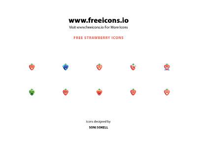 Free strawberry icons branding vector free icons illustration icons pack free icons set strawberry icons icons strawberry