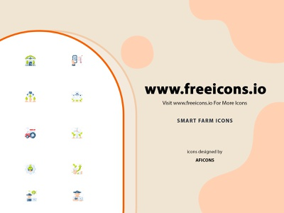 Smart Farms Icons aficons farms smart farms free icons vector icon