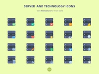 Server and Technology Icons