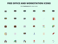 Free office and workstation icons