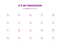 Job and profession Icons