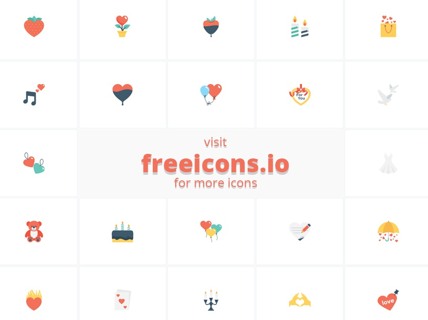 Free Valentines Day Icons ai branding ux app ui freeicons vector web vector logo free icons design illustration valentines day bash valentines day love notes valentines day icon