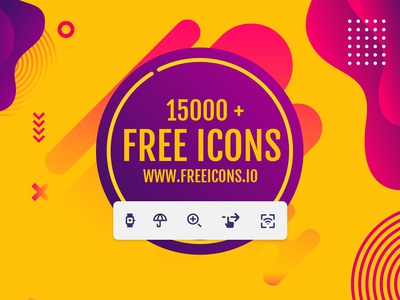15000+ Free icons