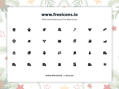 Free Christmas icons ui app freeicons vector logo design free icons web illustration vector icon christmas icons
