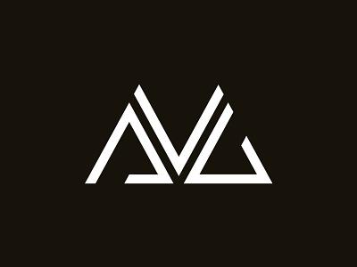 AVG Monogram logo branding mark id monogram ambigram minimal minimalist graphic design type letters