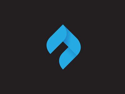 Abstract A  logo branding mark id monogram ambigram minimal minimalist graphic design type letters