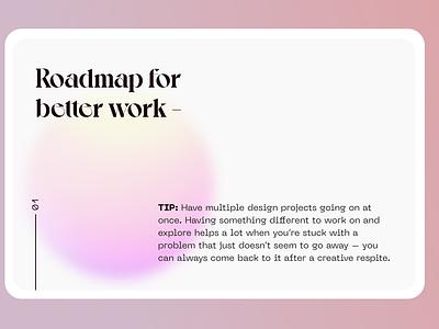 Exploring display fonts type modern concept deck slide daily challange gradient color typography gradient branding