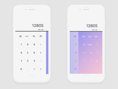 Daily UI 004 Calculator daily challange calculator ux ui design