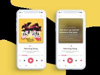 Music Player- Daily UI #009