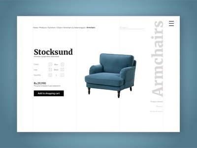 Furniture ecommerce store ecommerce business modern furniture store ecommerce design ecommerce shop product page ecommerce typography ui design daily challange branding design ui