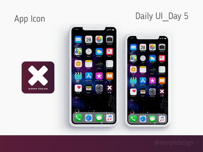 Daily UI_Day 5 - App Icon