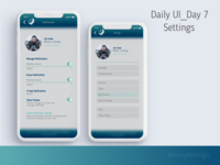 Daily UI_Day 7 - Settings