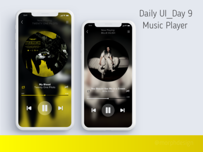 Daily UI_Day 9 - Music Player