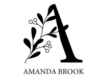 Logo with flower element