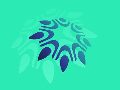 EDW Consulting icon vector logo